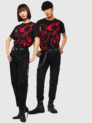 CL-T-DIEGO-2, Black - T-Shirts