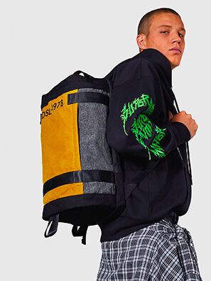 PIEVE, Black/Yellow - Backpacks
