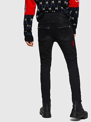 D-Amny 0890U, Black/Dark grey - Jeans