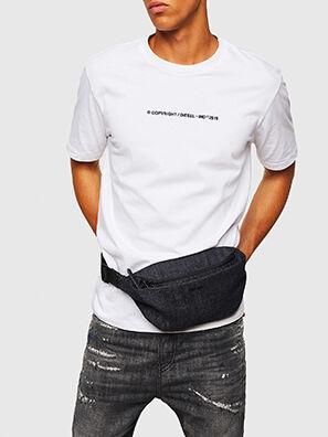D-SUBTORYAL DENIM BE, Blue Jeans - Belt bags
