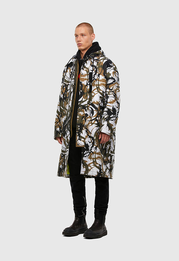 W-TORRENCE, White/Black - Winter Jackets