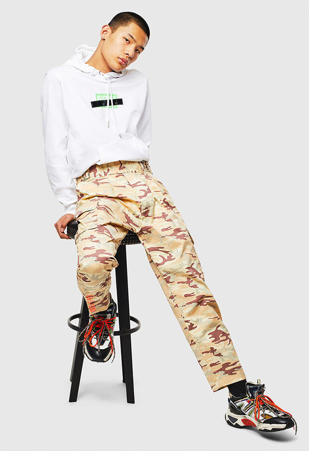 P-COOLE-CARGO, Beige - Pants