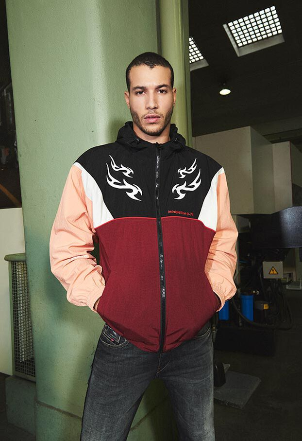 J-ETHAN, Black/Red - Jackets