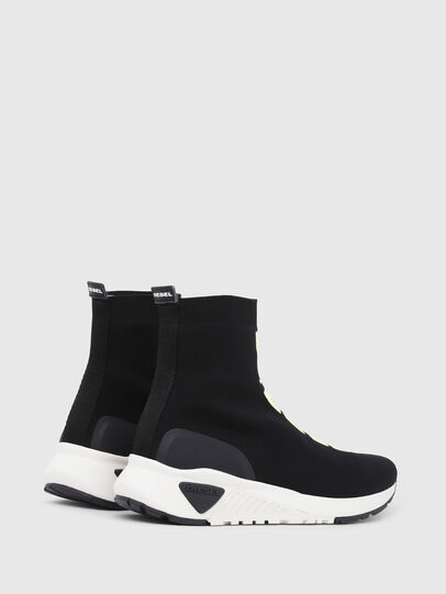 Diesel - S-KB MID ATHL SOCK, Black - Sneakers - Image 3