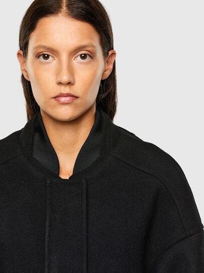 Diesel - W-LETHEA, Black - Winter Jackets - Image 6