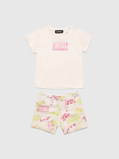 Diesel - SILLIN-SET-NB, White/Pink - Jumpsuits - Image 1