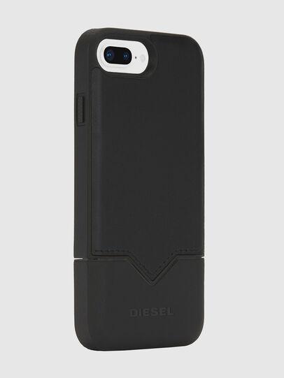 Diesel - CREDIT CARD IPHONE 8 PLUS/7 PLUS/6S PLUS/6 PLUS CASE, Black - Cases - Image 4