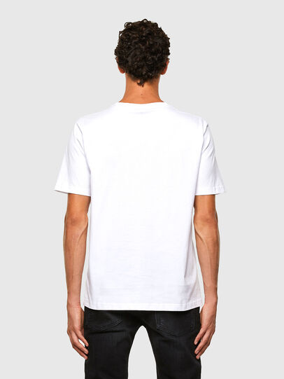 Diesel - T-JUST-N43, White - T-Shirts - Image 2