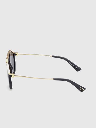 Diesel - DL0346, Black/Gold - Sunglasses - Image 3