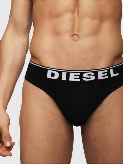 Diesel - UMBR-STRING, Black - Briefs - Image 3