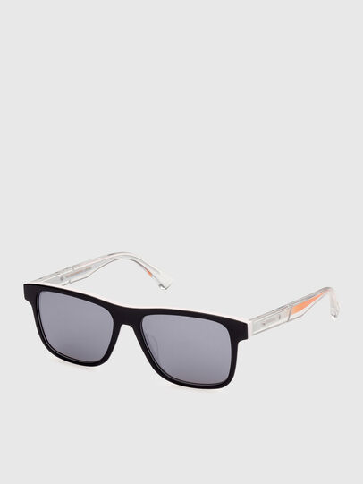 Diesel - DL0279, White/Orange - Sunglasses - Image 2