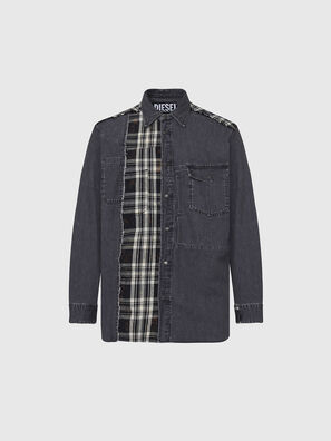 D-FINLY, Dark grey - Denim Shirts