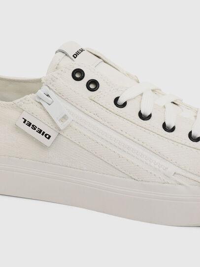 Diesel - S-ASTICO LOW ZIP W, White - Sneakers - Image 4