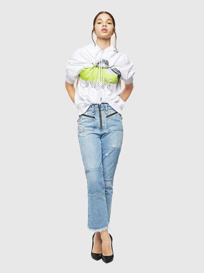 Diesel - F-ALBYHOOK, White - Sweaters - Image 6