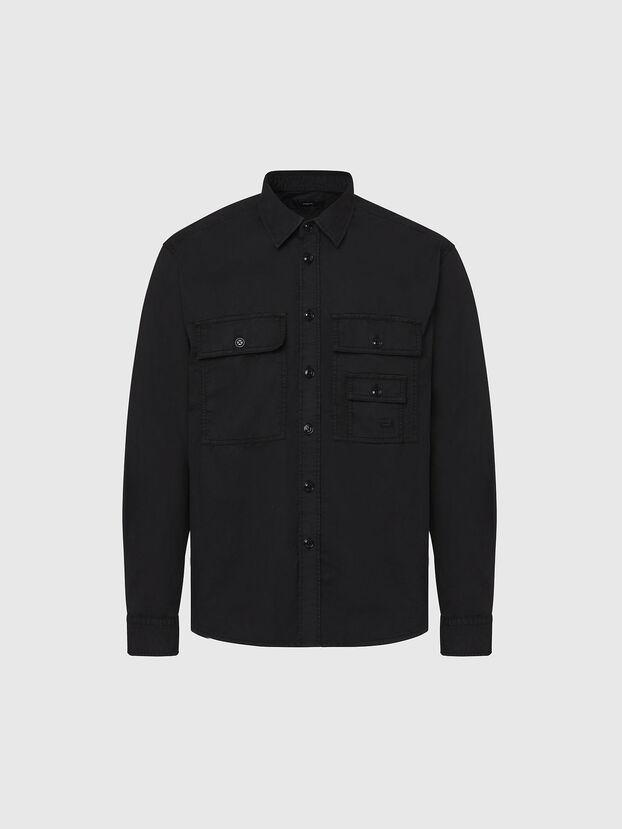 S-ALLEN-KA, Black - Shirts