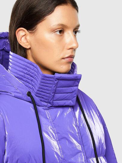 Diesel - W-DERK, Violet - Winter Jackets - Image 3