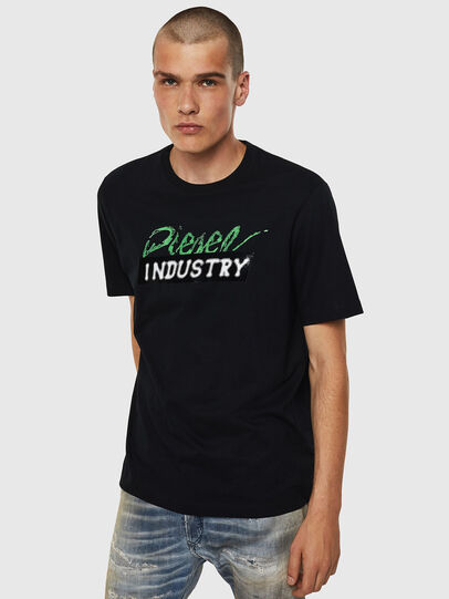 Diesel - T-JUST-BX2, Black - T-Shirts - Image 1