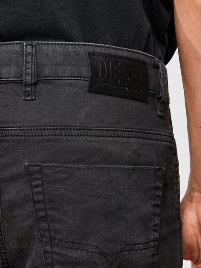 Diesel - Krooley JoggJeans 069QL, Black/Dark grey - Jeans - Image 4