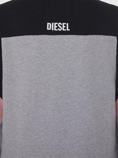 Diesel - UFLT-PHYLOSH, Gray/Black - Sweaters - Image 4