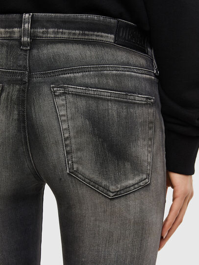 Diesel - Slandy 069QR, Black/Dark grey - Jeans - Image 3