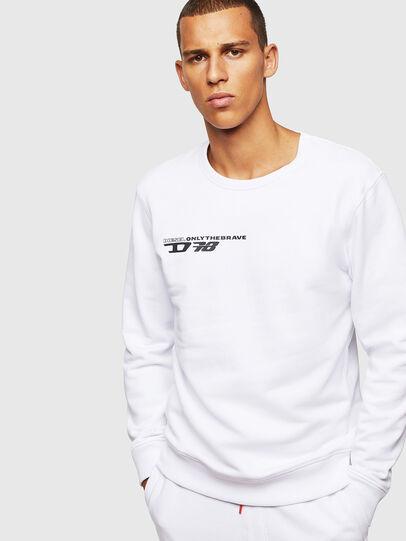 Diesel - UMLT-WILLY, White - Sweaters - Image 1