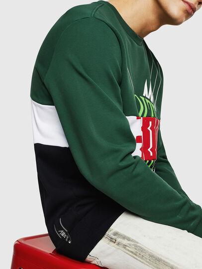 Diesel - S-GIR-CUT, Green/Black - Sweaters - Image 3