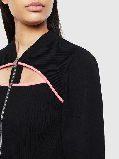 Diesel - M-LANAE, Black - Knitwear - Image 3