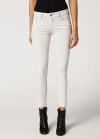 Slandy 084BZ, White Jeans