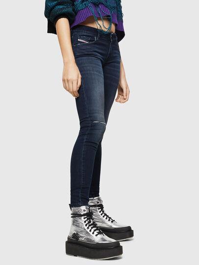 Diesel - Slandy Low 0870C, Dark Blue - Jeans - Image 5
