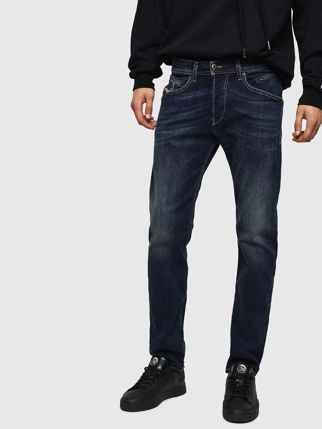 Diesel Belther 0814W, Dark Blue - Jeans - Image 1