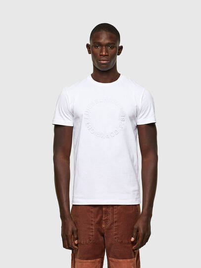 Diesel - T-DIEGOS-A2, White - T-Shirts - Image 1
