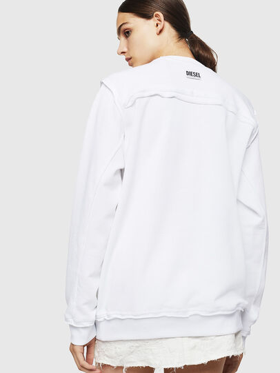 Diesel - F-LYANY-H, White - Sweaters - Image 2