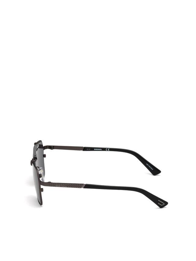 Diesel DL0256, Black - Eyewear - Image 3