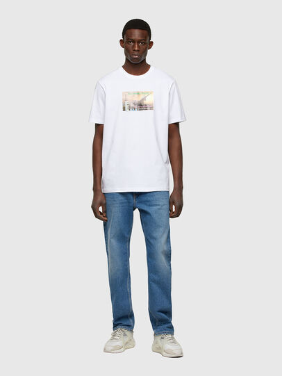 Diesel - T-JUST-A34, White - T-Shirts - Image 5