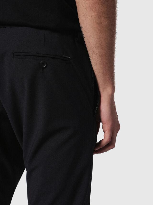 Diesel P-OLIVERY, Black - Pants - Image 5