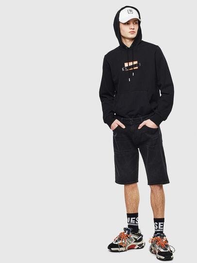 Diesel - THOSHORT, Black - Shorts - Image 6