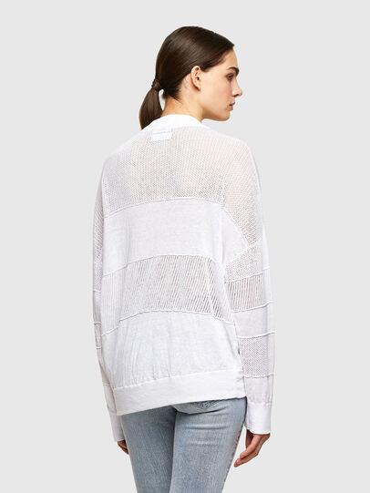 Diesel - M-ALEXA, White - Knitwear - Image 2