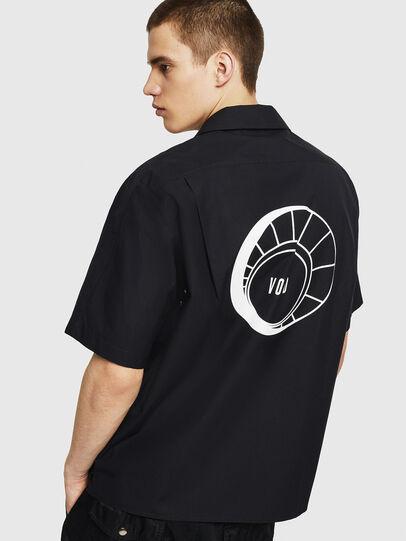 Diesel - S-KULKOV, Black - Shirts - Image 2