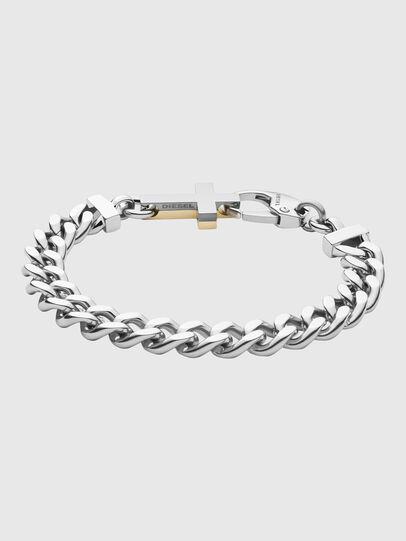 Diesel - DX1251, Silver - Bracelets - Image 1