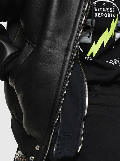 Diesel - L-BRANDO,  - Leather jackets - Image 3