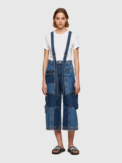 Diesel - DE-AMETHY, Medium blue - Pants - Image 1