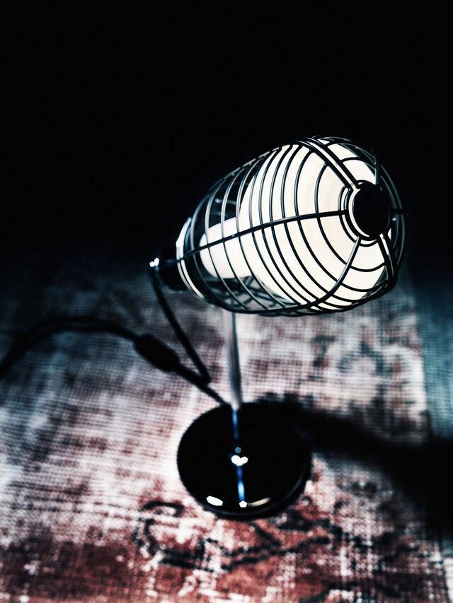 Living CAGE MIC NERO, Black - Table Lighting - Image 3