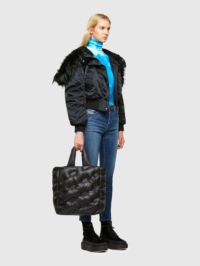 Diesel - KESSIE, Black - Shopping and Shoulder Bags - Image 7