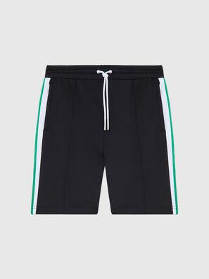 P-KURL, Black - Shorts