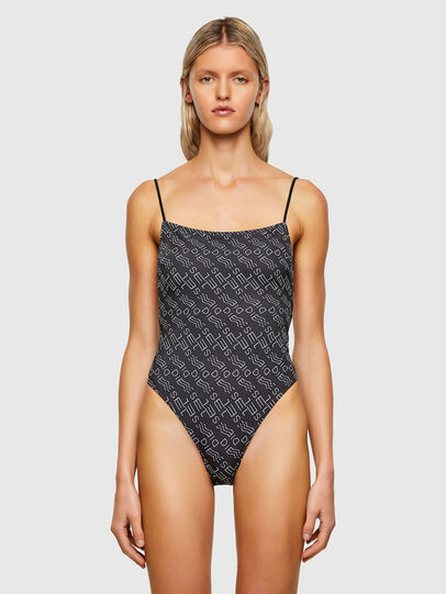 Diesel - BFSW-RASJA, Black - Swimsuits - Image 1