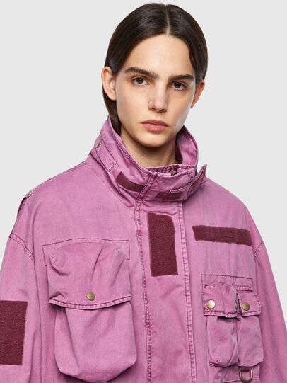 Diesel - G-BUMS, Pink - Jackets - Image 4