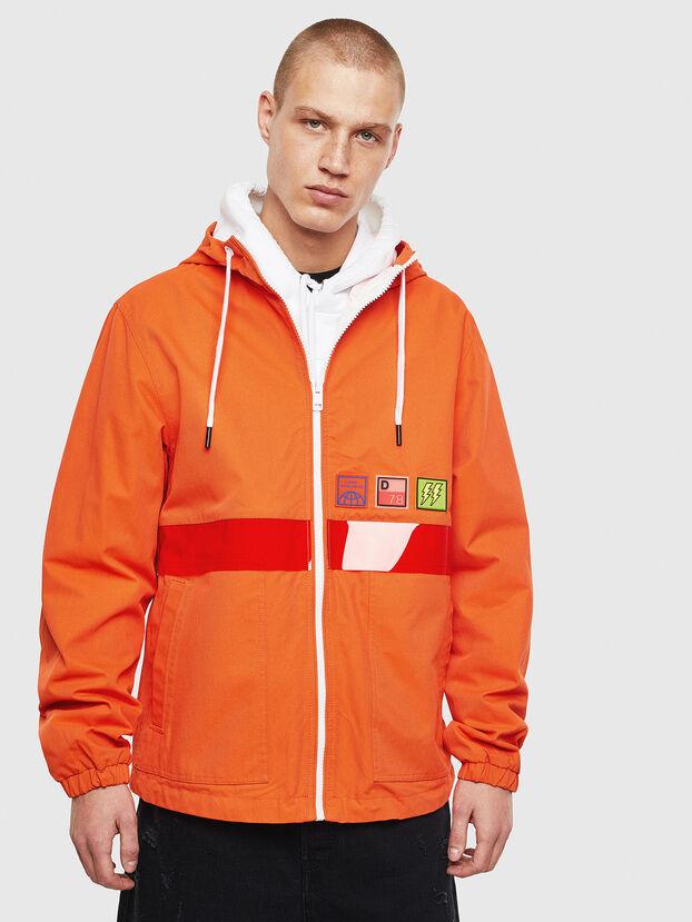 J-LINE, Orange - Jackets