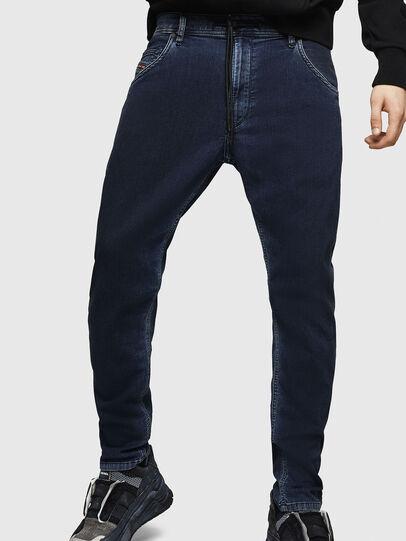 Diesel - Krooley JoggJeans 069HY, Dark Blue - Jeans - Image 4