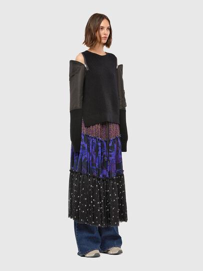 Diesel - M-CLARE, Black - Knitwear - Image 6
