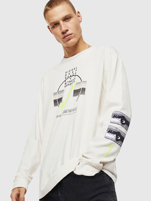 T-JUST-LS-J3, White - T-Shirts